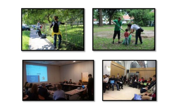 """Project """"Practice solidarity and shape Europe"""" 2017-2018"""