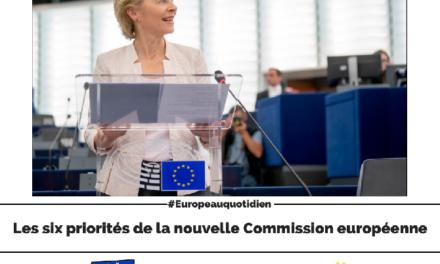 Les 6 priorités de la Commission Europénne d'Ursula Von Der Leyen