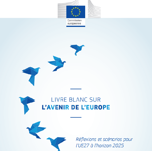 Les documents de réflexion sur l'avenir de l'Europe sont à la Maison de l'Europe de Paris !