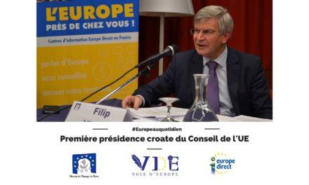 Première présidence croate du Conseil de l'UE