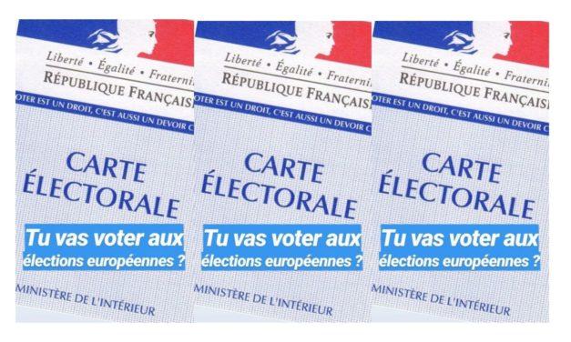 « Votre premier vote, c'est important » avec Science Po Paris 2019