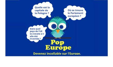 POP EUROPE, l'application pour mobile et tablette sur l'Europe – 2017