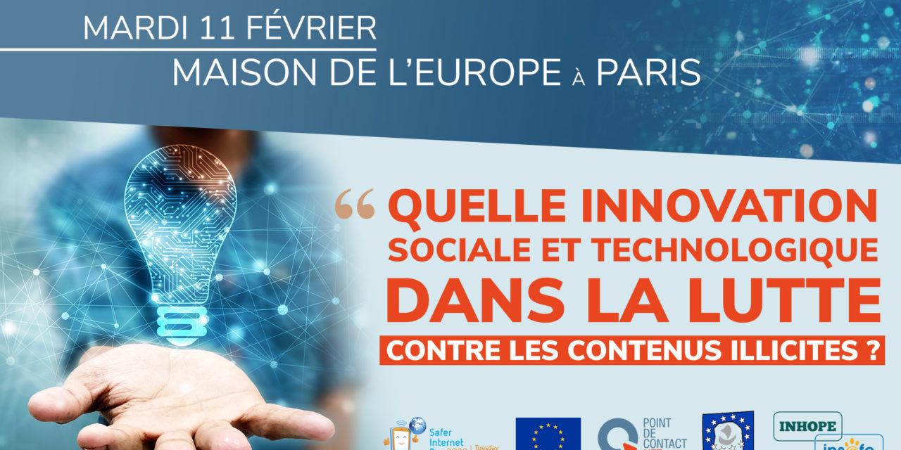 Quelle innovation sociale et technologique dans la lutte contre les contenus illicites en ligne ?