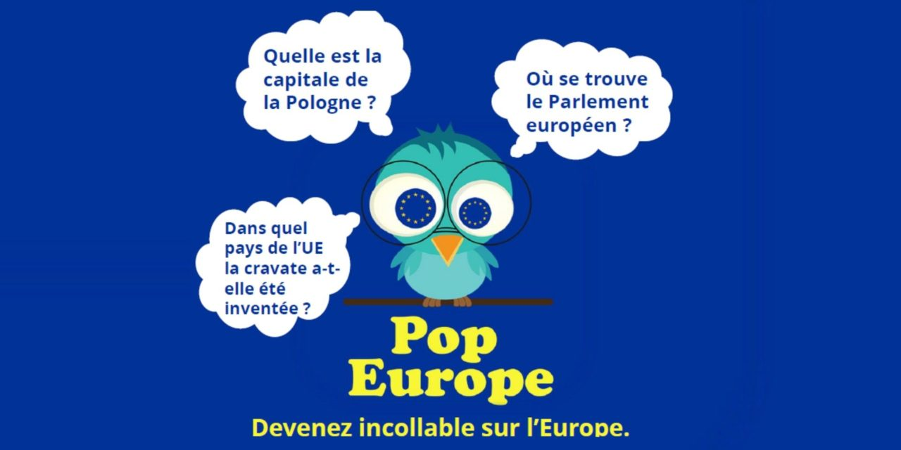 Jouez à POP EUROPE, l'application pour mobile et tablette sur l'Europe