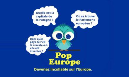 Jouez à POP EUROPE, l'application pour mobile et tablette sur l'Europe