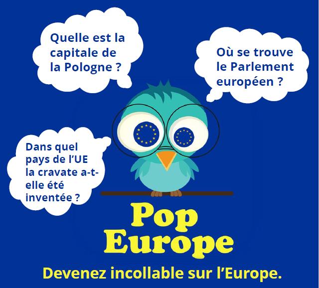 L'application pour mobile et tablette POP EUROPE