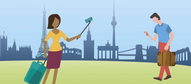 Le programme Erasmus + à portée de main grâce à une application mobile