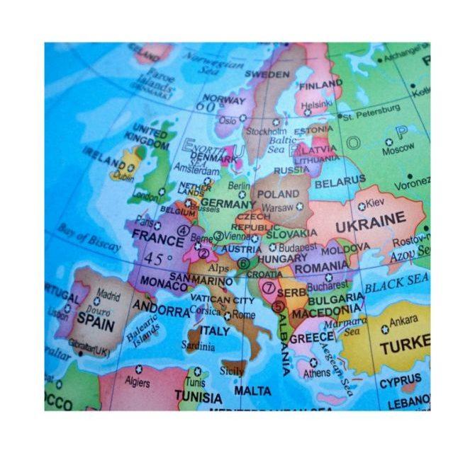 Voyager en Europe 2019-2020