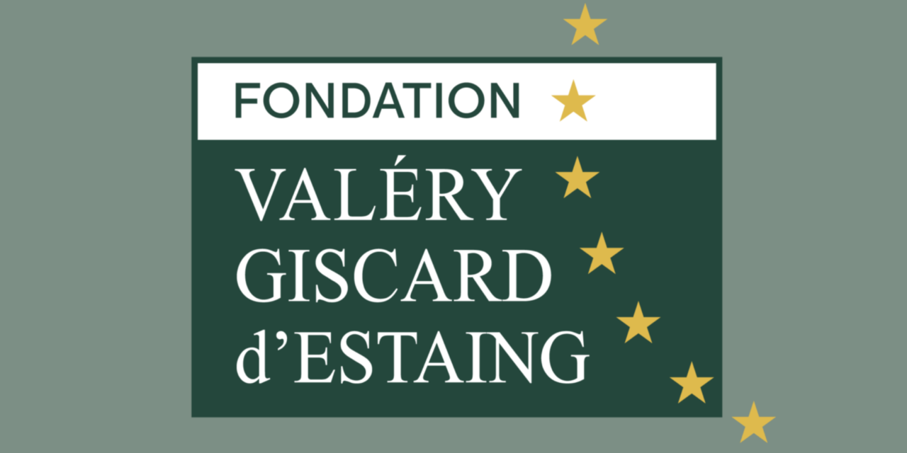 Prix V. Giscard d'Estaing 2020 – Fondation Valery Giscard d'Estaing