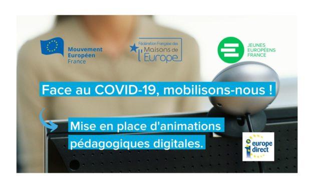 Rencontre jeunesse en ligne autour de la mobilité régionale et européenne
