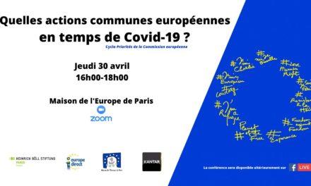 Quelles actions communes européennes en temps de Covid-19