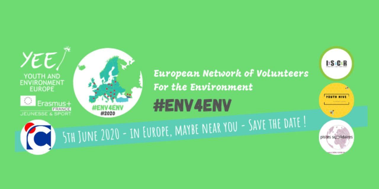 #ENV4ENV : des volontaires européens s'engagent pour l'environnement