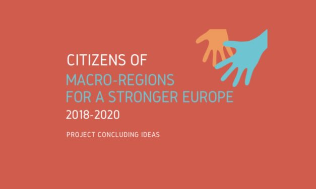 """Citizens of macro-regions for a stronger Europe"" project 2018-2020"