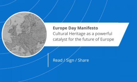 """Manifeste : """"Notre patrimoine culturel: un catalyseur puissant pour l'avenir de l'Europe"""""""