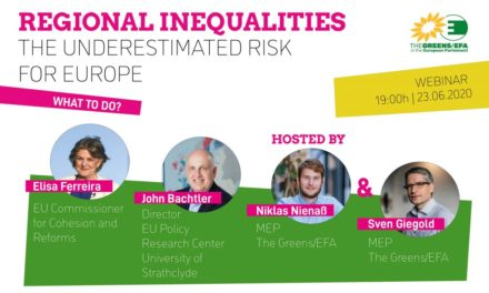 "Webinaire ""Regional inequalities, the underestimated risk for Europe"""