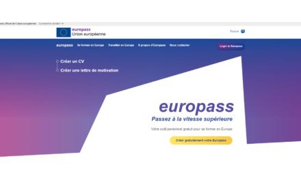 Nouvelle plateforme Europass