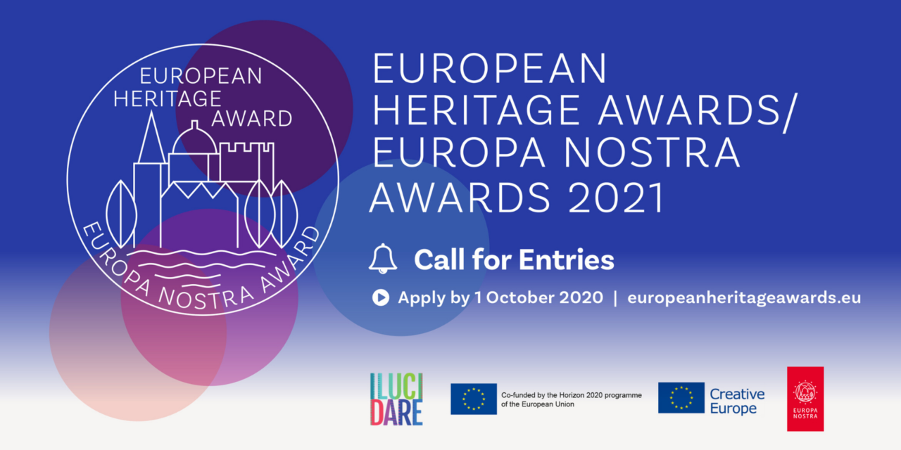 Appel à candidatures : Prix du patrimoine européen / Prix Europa Nostra 2021