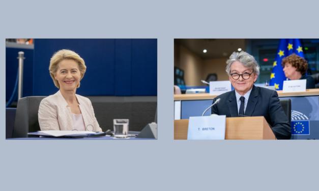 Réactions de la Présidente von der Leyen et du Commissaire Breton sur la conclusion du Conseil européen