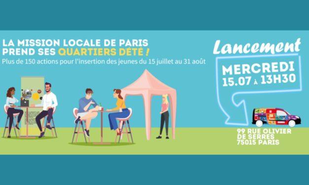 La Mission de locale de Paris prend ses quartiers d'été du 15/07 au 31/08