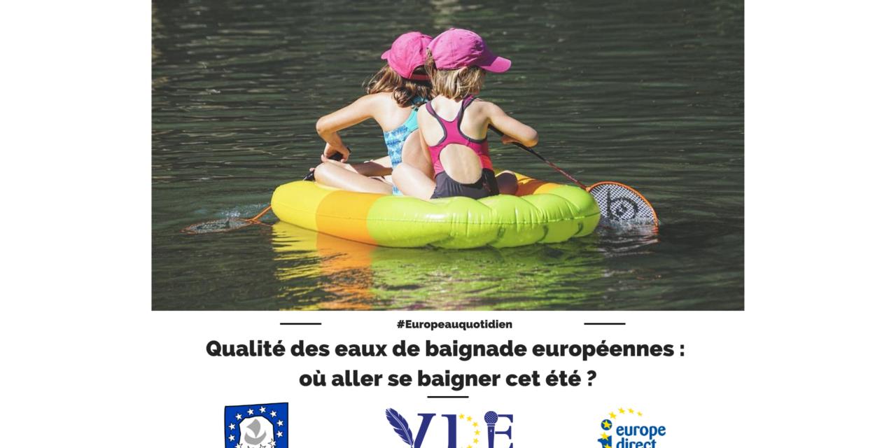 Qualité des eaux de baignade européennes : où aller se baigner cet été ?