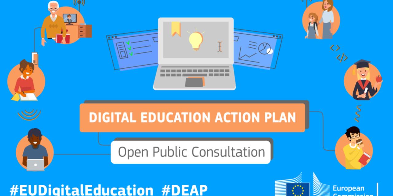 Consultation publique : Un nouveau plan d'action en matière d'éducation numérique