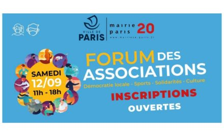 Forum des associations – Paris 20ème