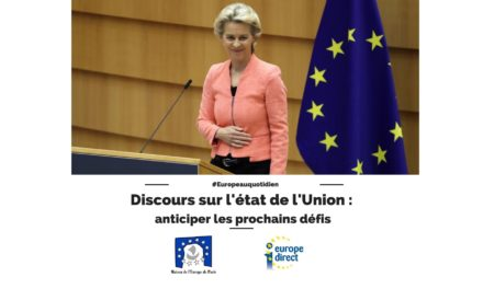Discours sur l'état de l'Union européenne : anticiper les prochains défis