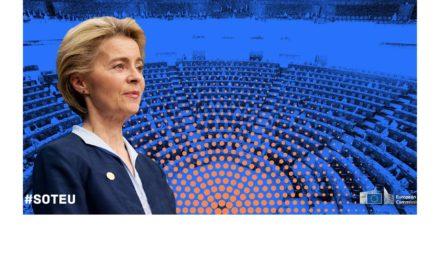 Premier discours d'Ursula von der Leyen sur l'état de l'Union