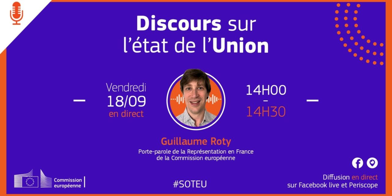 #AskEU avec Guillaume Roty sur le discours sur l'état de l'Union