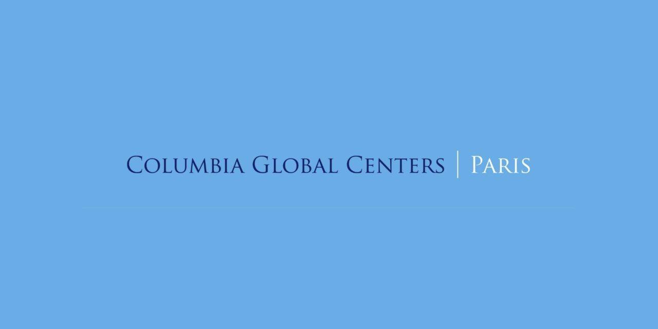 Columbia Global Centers – Cycle de conférences sur l'Europe