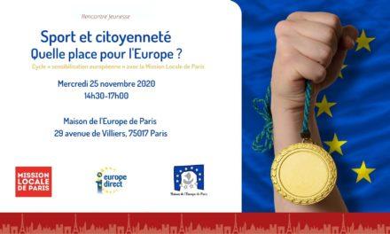 Sport et citoyenneté – Quelle place pour l'Europe ?