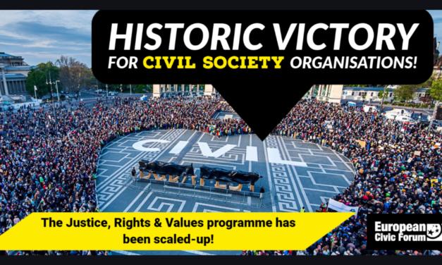 Budget européen : une victoire historique pour la société civile !