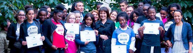 Ecole ambassadrice du Parlement européen 2015-2016