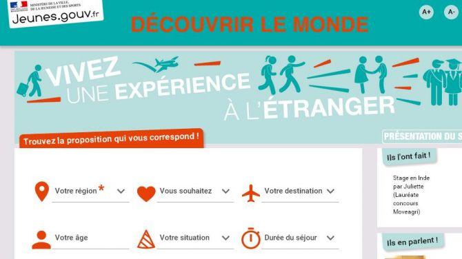 « Découvrir le monde » : nouveau site dédié à la mobilité européenne et internationale des jeunes