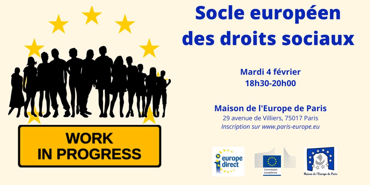 Socle européen des droits sociaux