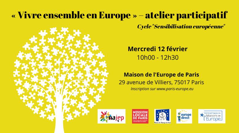 « Vivre ensemble en Europe » – atelier participatif