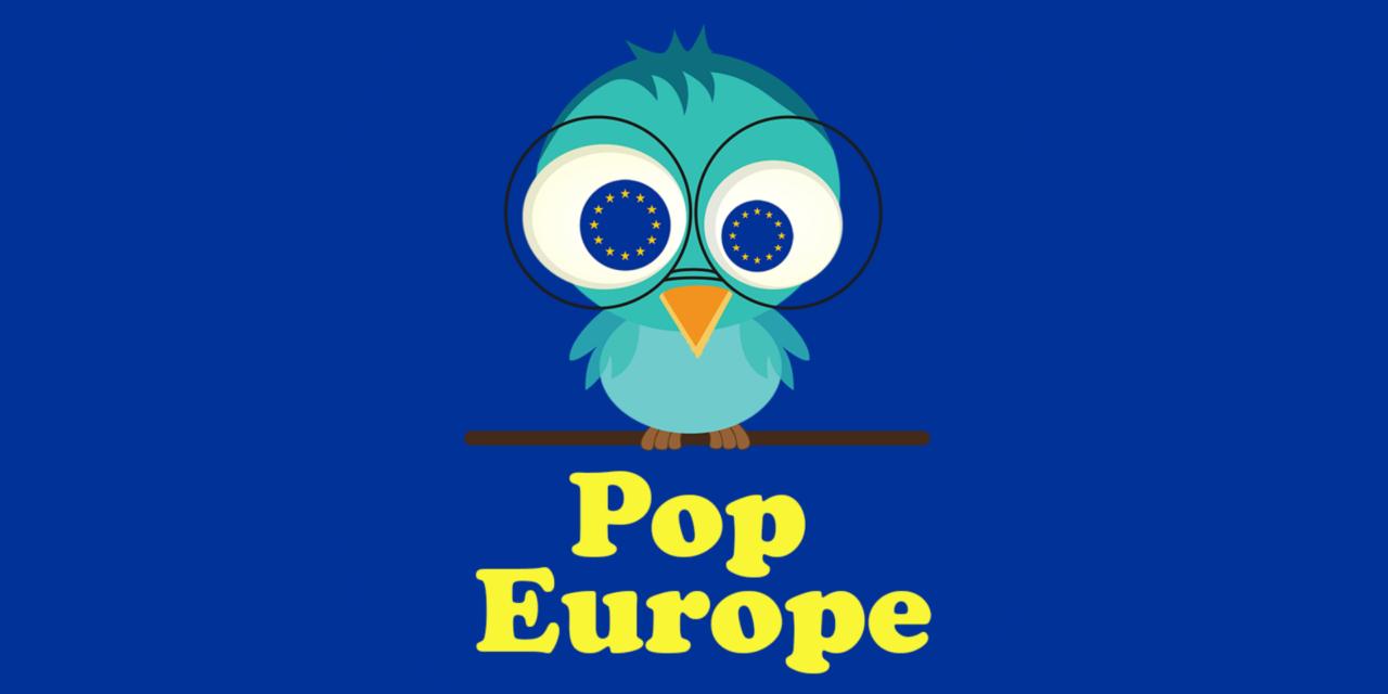 Pop Europe, l'application mobile – 2017