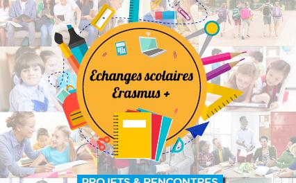 Déposez votre candidature pour participer aux Echanges Scolaires Erasmus +