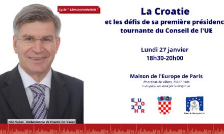 La Croatie et les défis de sa première présidence tournante du Conseil de l'UE