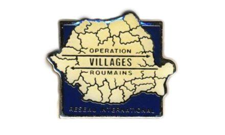 Les 30 ans de l'«Opération Villages Roumains»