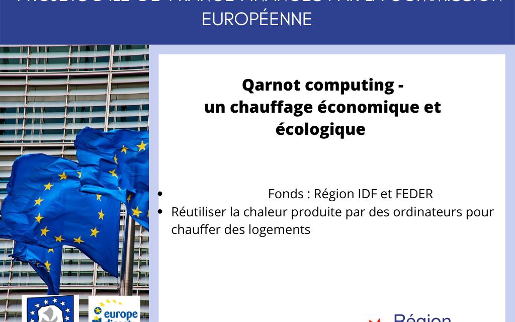 Projet IDF: Start-up Qarnot Computing: crée un radiateur-ordinateur !