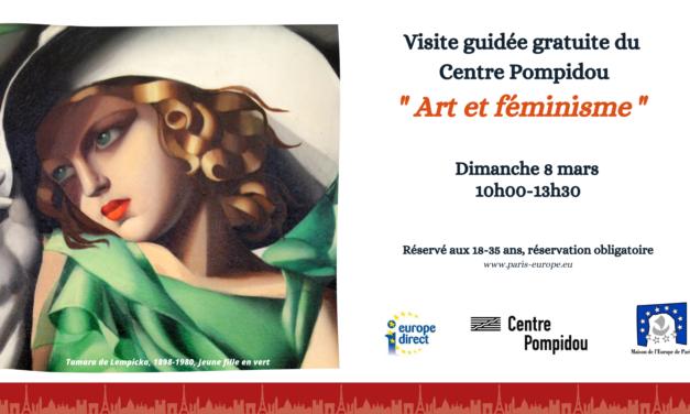 Visite guidée gratuite au Centre Pompidou pour les 18-35 ans : Art et Féminisme
