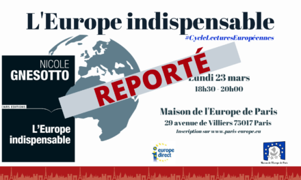 « L'Europe indispensable »
