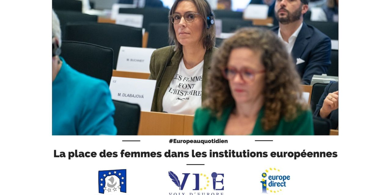 La place des femmes dans les institutions européennes