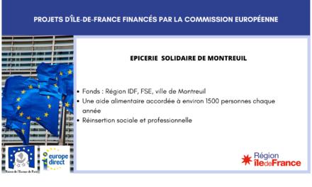 Projet IDF: Découvrez l'épicerie solidaire de Montreuil