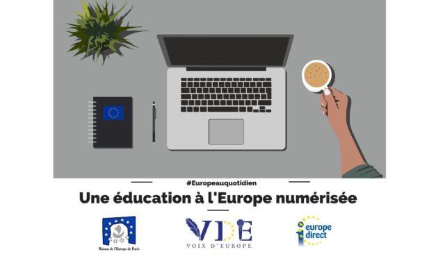 Une éducation à l'Europe numérisée
