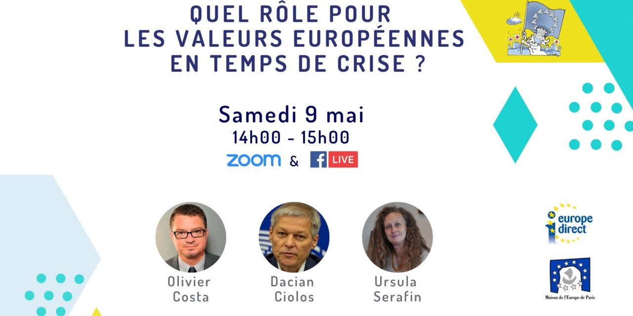 Quel rôle pour les valeurs européennes en temps de crise ?