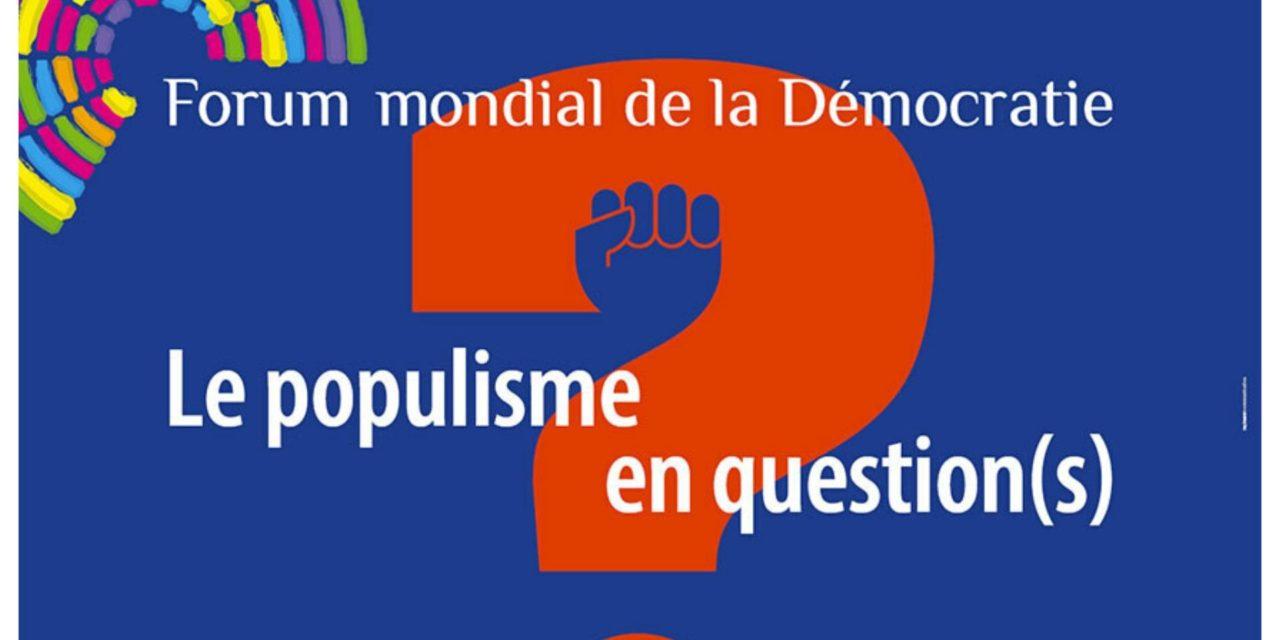 Discours novembre 2017 – Forum de la démocratie – Catherine Lalumière