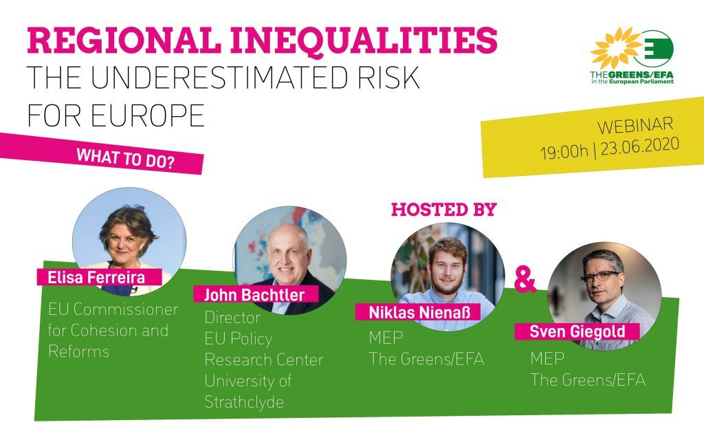 "Webinaire ""Regional inequalities, the underestimated risk for Europe"""