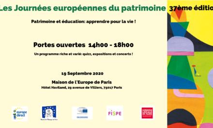 Journée européenne du patrimoine – 37ème édition – Portes ouvertes